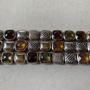 DAVID YURMAN Chiclet Elements Diamond Bracelet